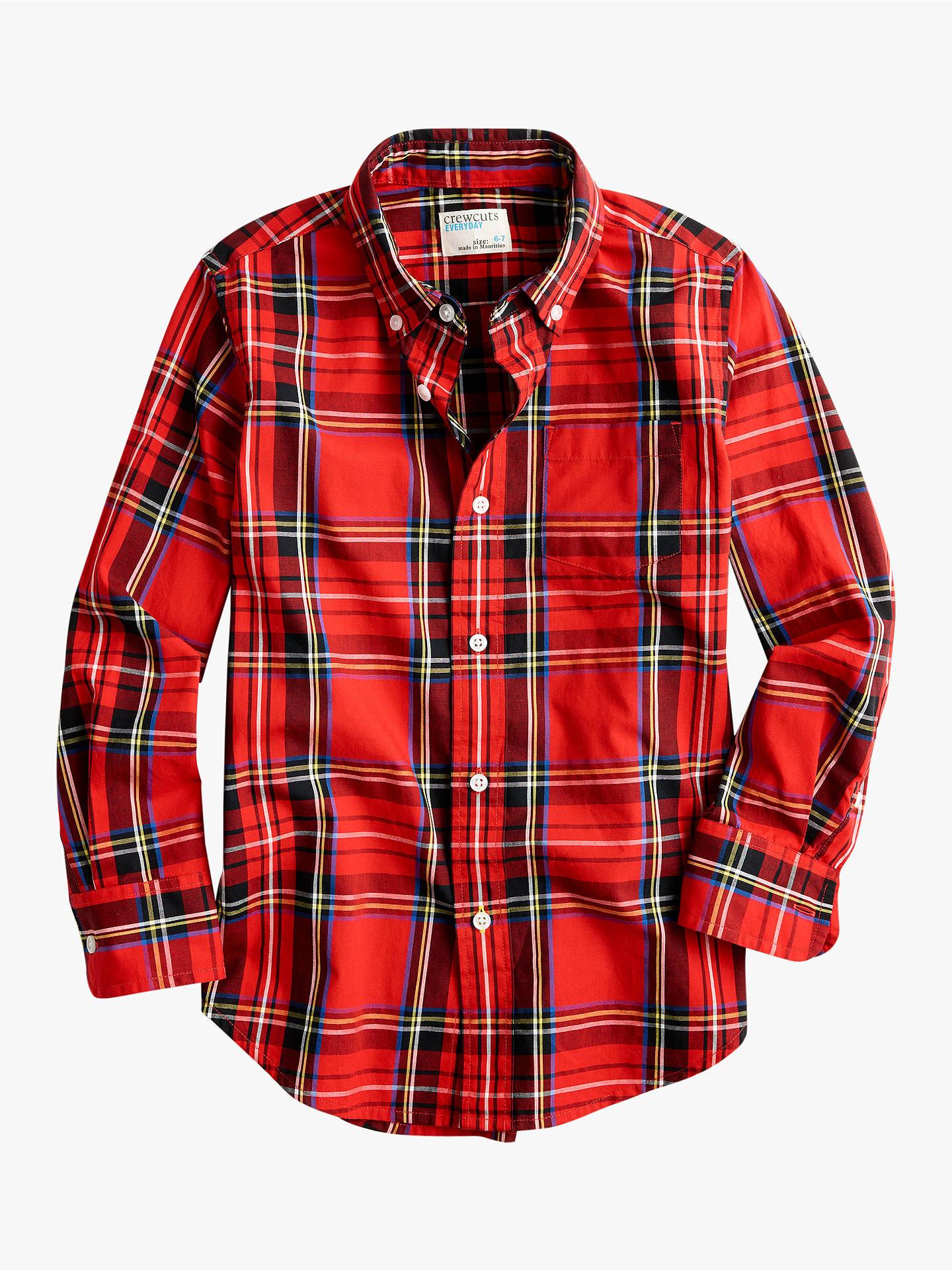 f6005185e3d Buycrewcuts by J.Crew Boys  Plaid Shirt