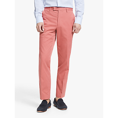 John Lewis & Partners Cotton Tailored Separate Trousers