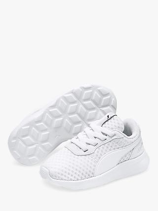 PUMA Junior St Activate Trainers, White