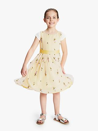 351ba997eaa John Lewis   Partners Heirloom Collection Girls  Embroidered Dress