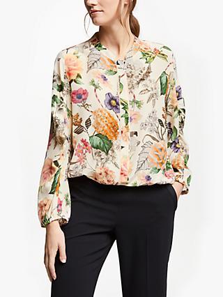 bd0096ee06db9 Marella Floral Silk Blouse