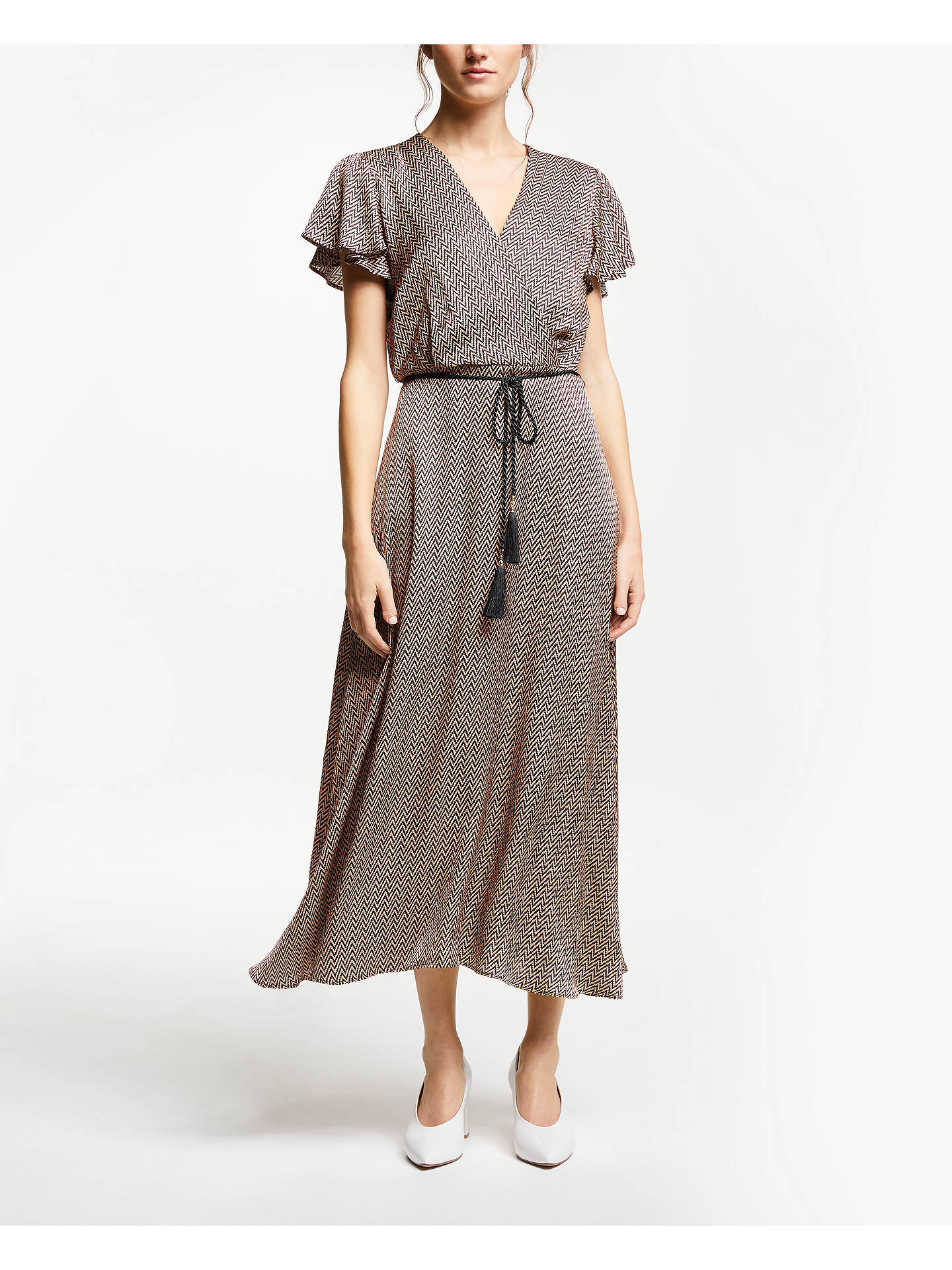 a6ff13685d Buy Marella Herringbone Maxi Wrap Dress