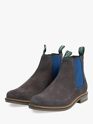 34f6c55f433 Barbour Farsley Suede Chelsea Boots