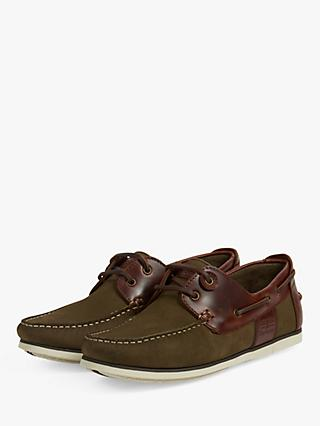 Barbour Capstan Leather Boat Shoes