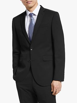 John Lewis & Partners Washable Tailored Suit Jacket, Black