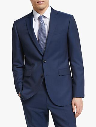John Lewis & Partners Washable Tailored Suit Jacket, Navy
