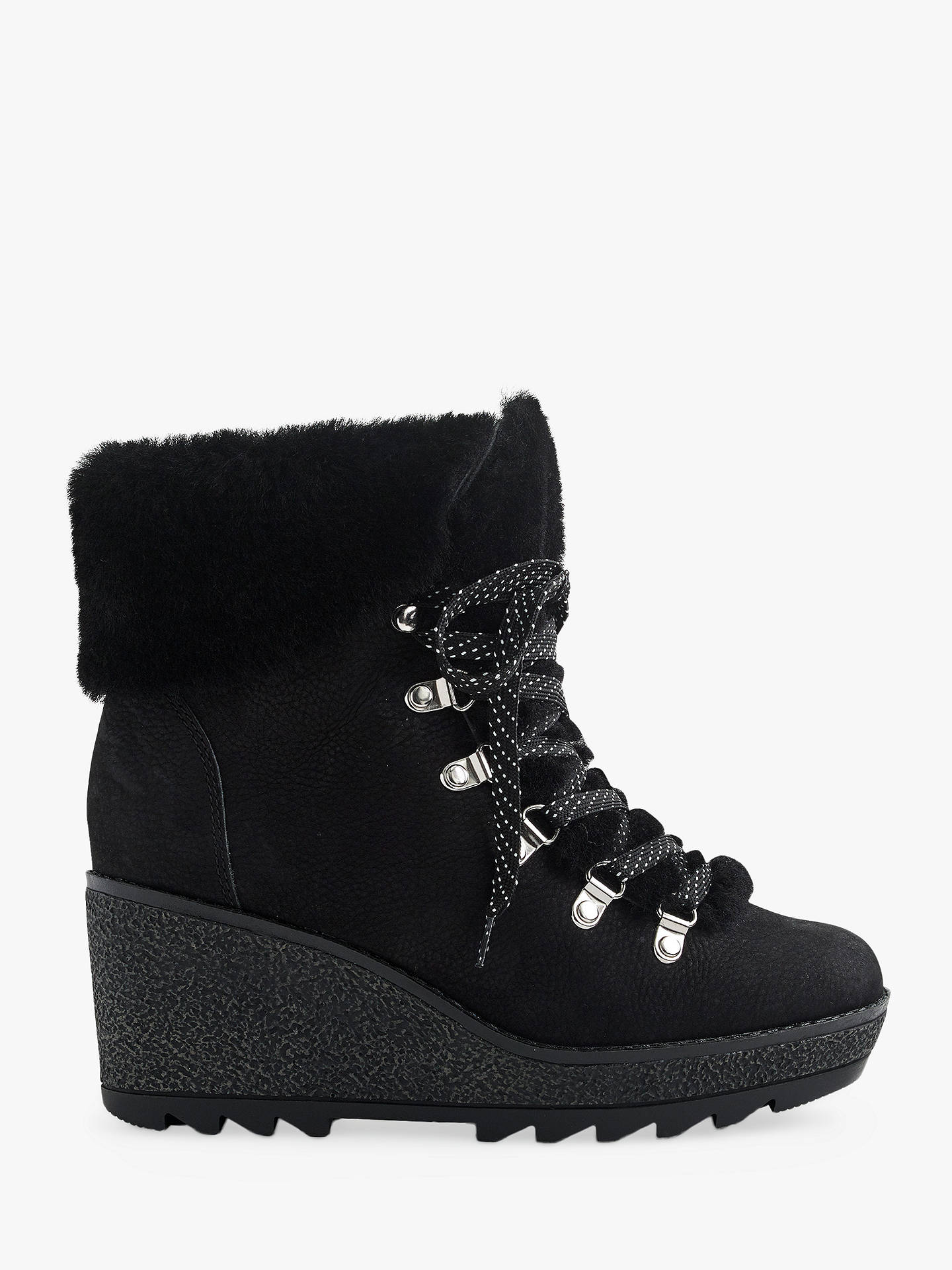 6d5bdb7001b Buy J.Crew Nordic Lace Up Wedge Ankle Boots