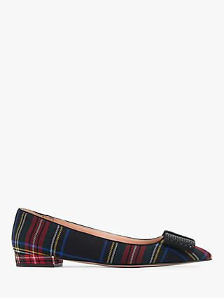 J. Crew Point Toe Bow Shoes, Multi