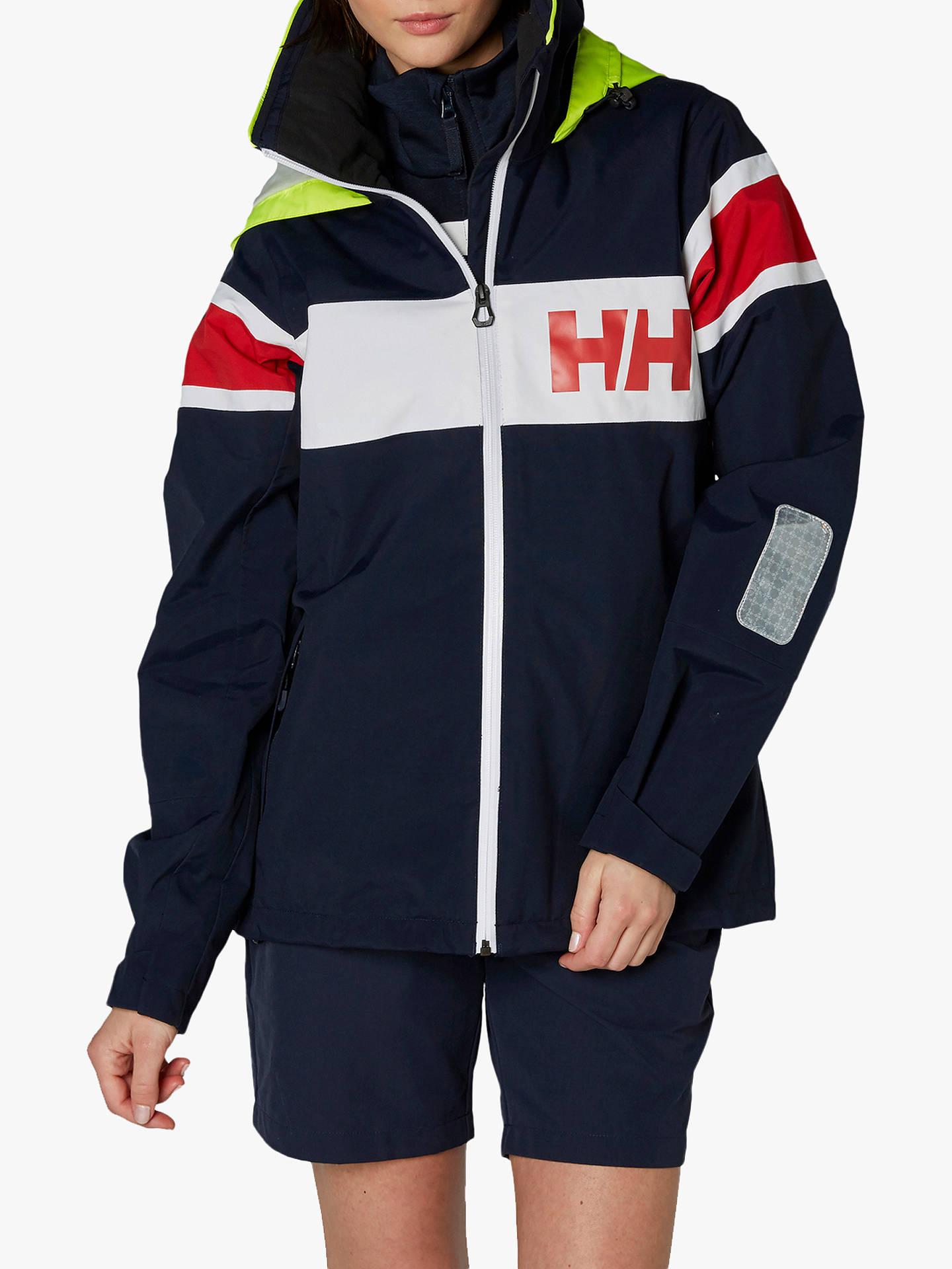 ensimmäinen katsaus halpa lenkkarit halpaa Helly Hansen Salt Jacket, Navy at John Lewis & Partners
