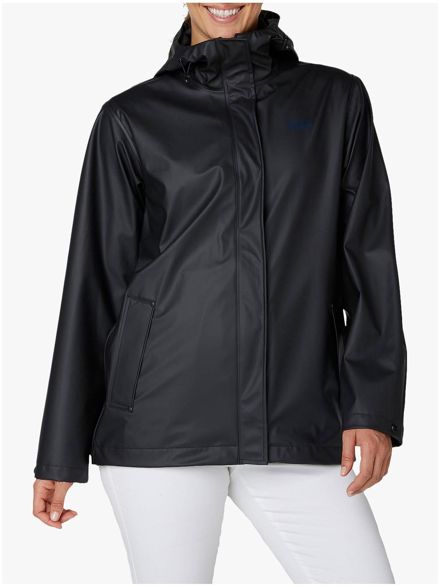 282649e4 Buy Helly Hansen Moss Women's Windproof Jacket, Black, XL Online at  johnlewis. ...