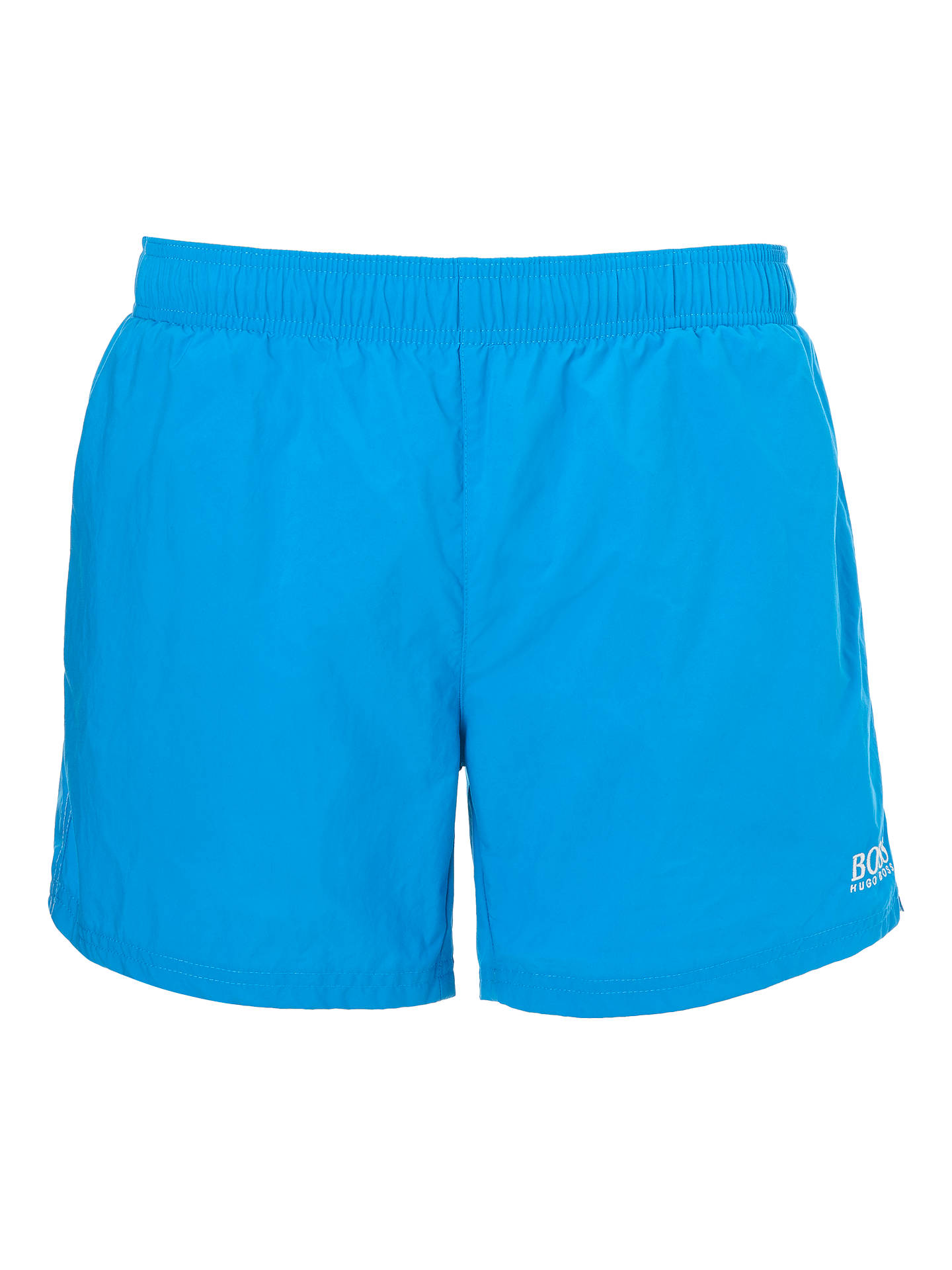 b8f8fe994 Buy BOSS Perch Swim Shorts, Blue, L Online at johnlewis.com ...