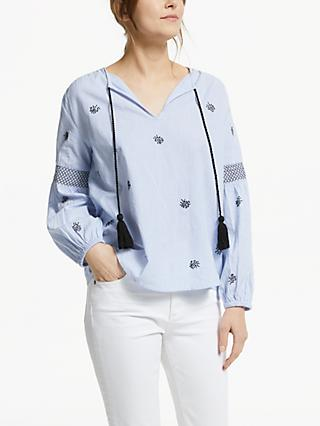 Velvet by Graham & Spencer Aimee Blouse, Blue