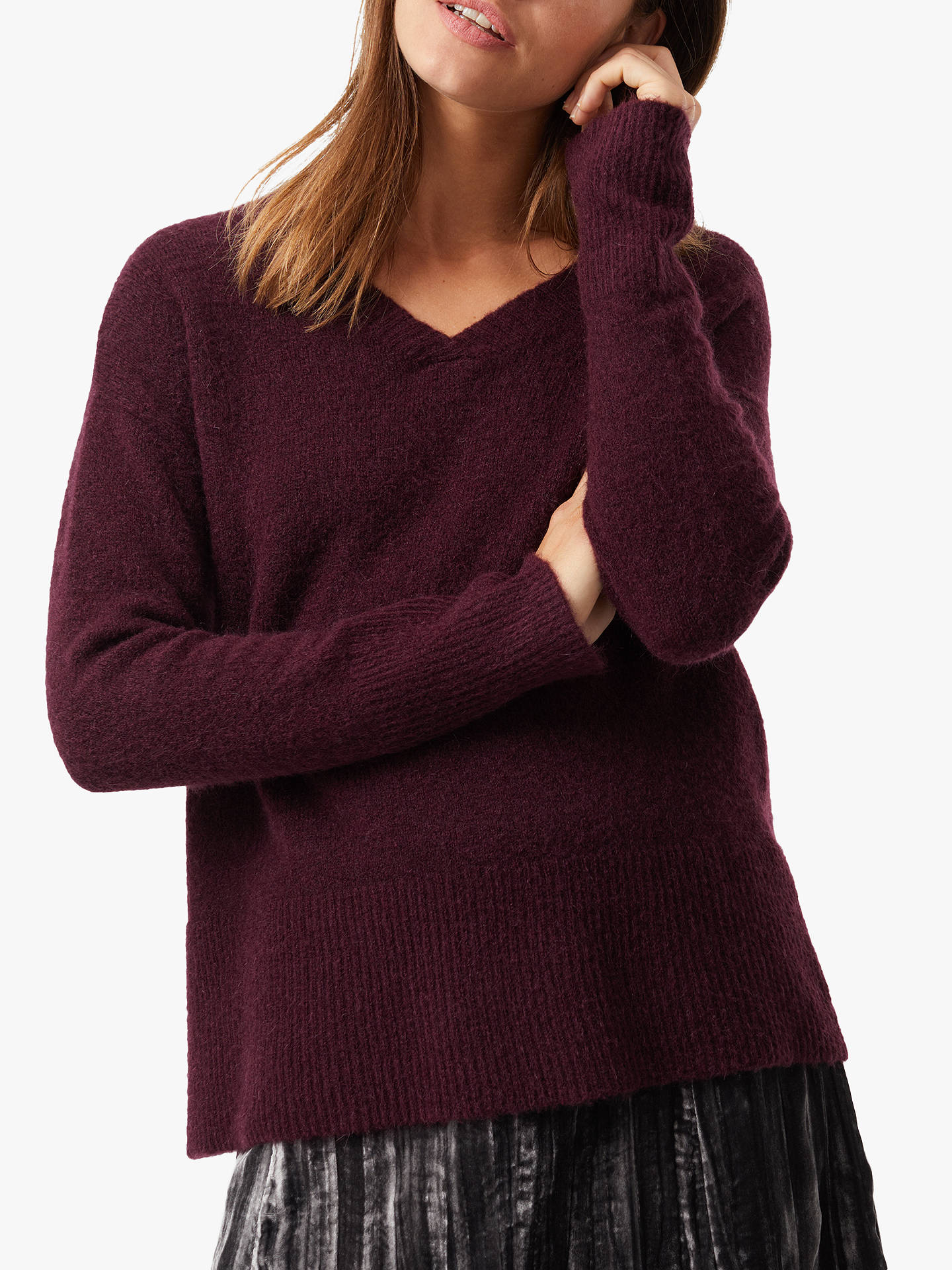 BuyWhite Stuff Dawn Jumper, Sugared Purple, 10 Online at johnlewis.com