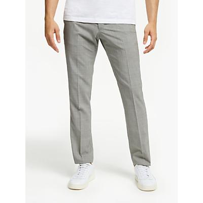 Tiger of Sweden Glen Check Slim Fit Suit Trousers, Grey