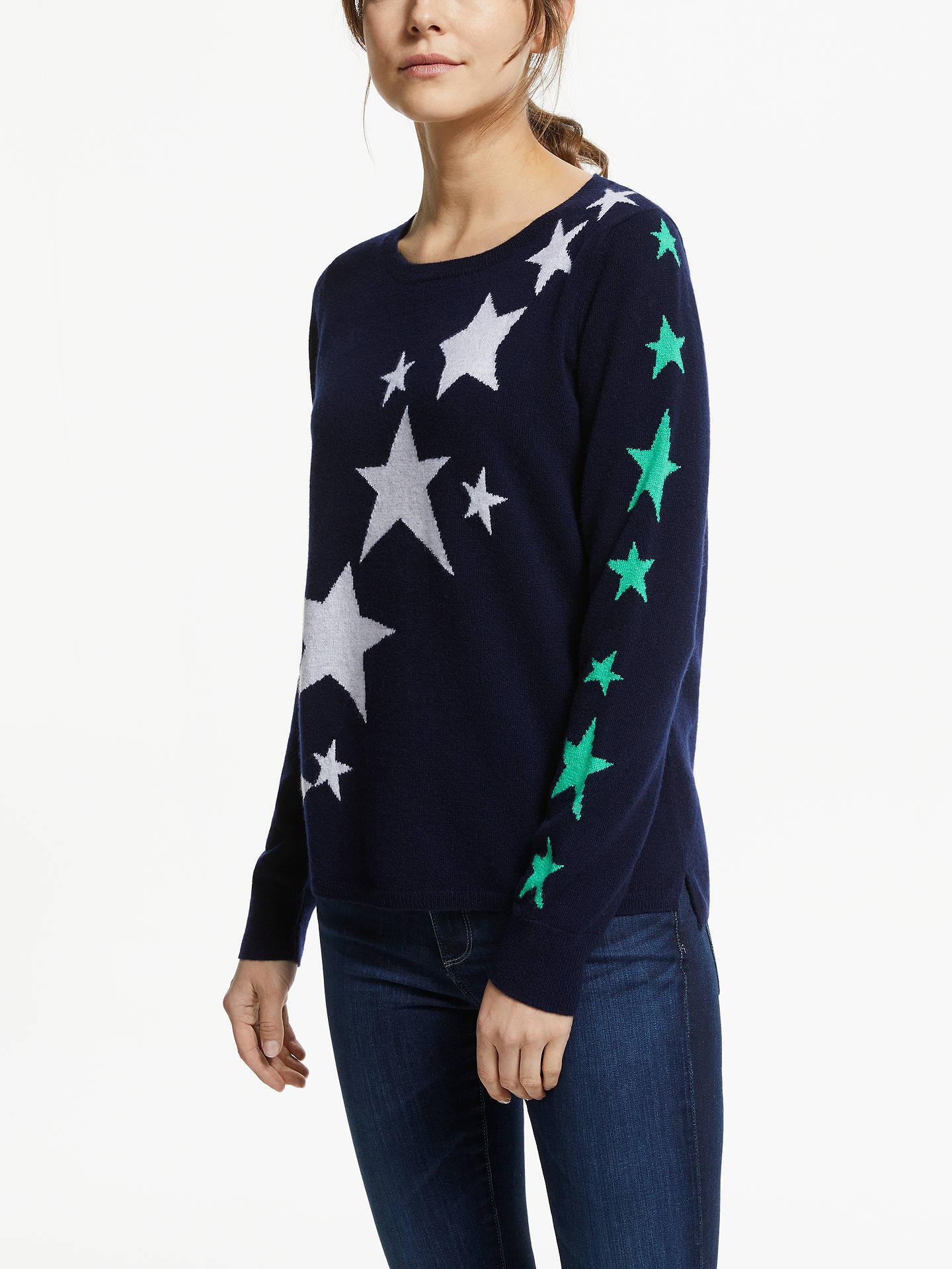 Cocoa Cashmere Women/'s Cashmere Star Jumper