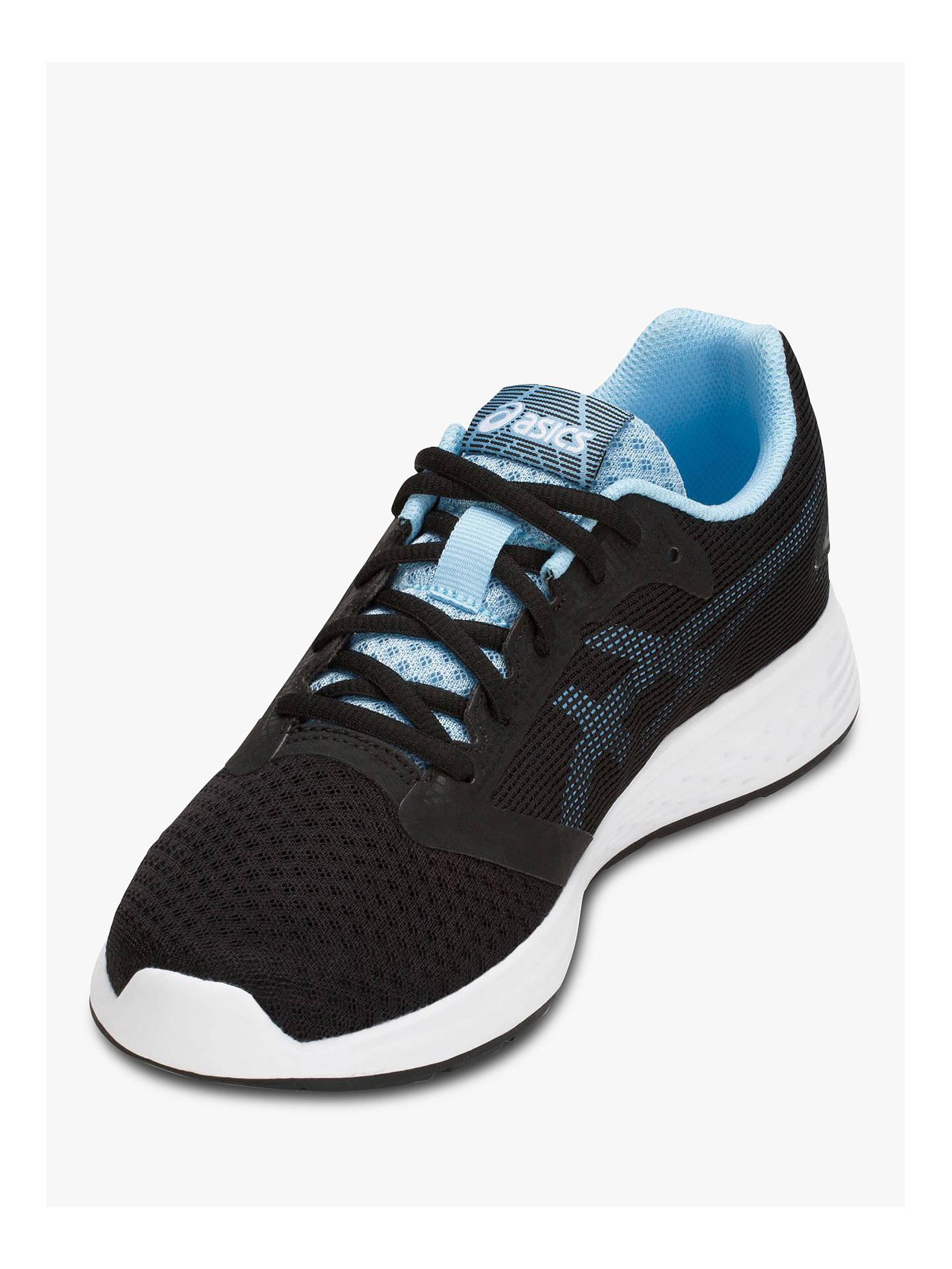 ASICS PATRIOT 10 Women's Running Shoes, BlackSkylight