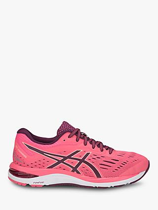 ASICS GEL-CUMULUS 20 Women's Running Shoes, Pink Cameo/Roselle