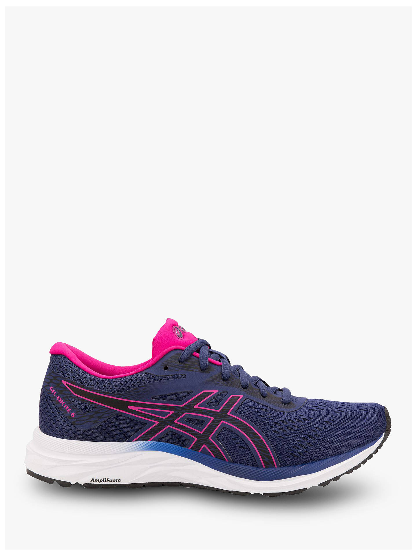 a6aa62be90f64 Buy ASICS GEL-EXCITE 6 Women's Running Shoes, Indigo Blue/Pink Rave, ...