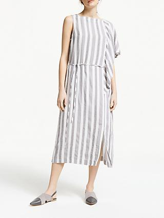 a06dcb6d2 Modern Rarity Drape Striped Dress
