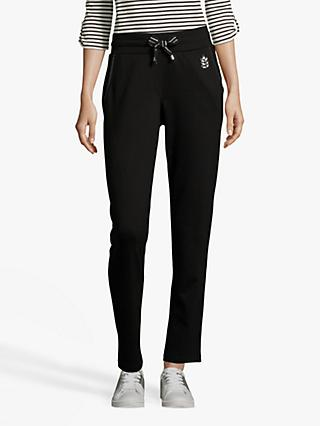 Betty Barclay Embellished Pull On Trousers, Black