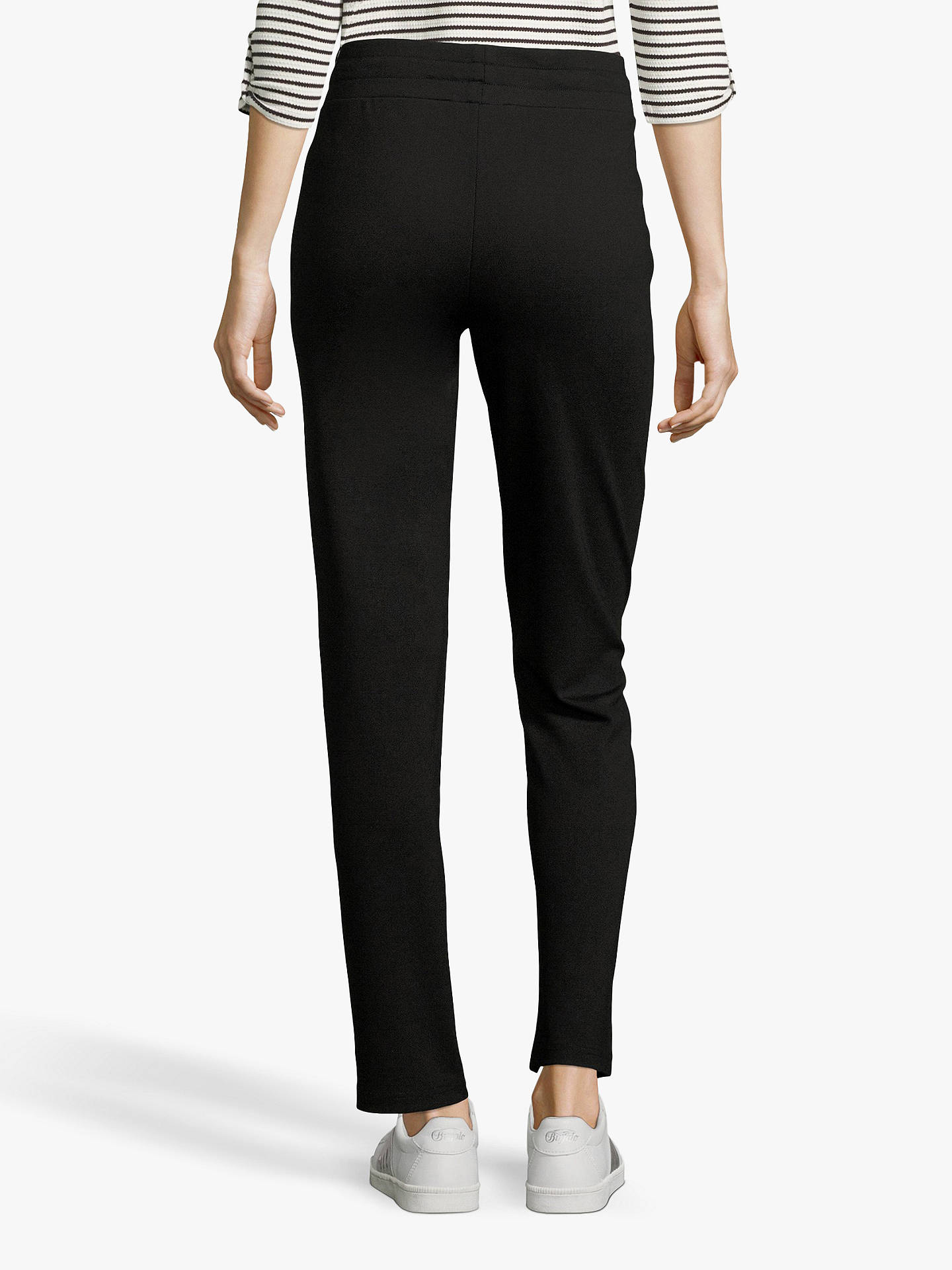 Buy Betty Barclay Embellished Pull On Trousers, Black, 18 Online at johnlewis.com