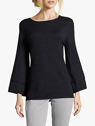 Betty Barclay Long Bell Sleeve Jumper, Dark Sky