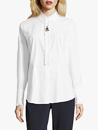 Betty Barclay Stretch Cotton Shirt, Bright White