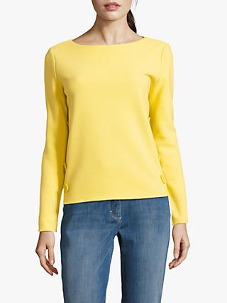 Betty Barclay Button Trimmed Long Sleeve Top