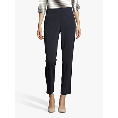 Betty Barclay Crêpe Pull-On Trousers, Dark Sky