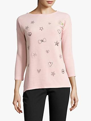 1ea147af8335c9 Betty Barclay Embellished Top