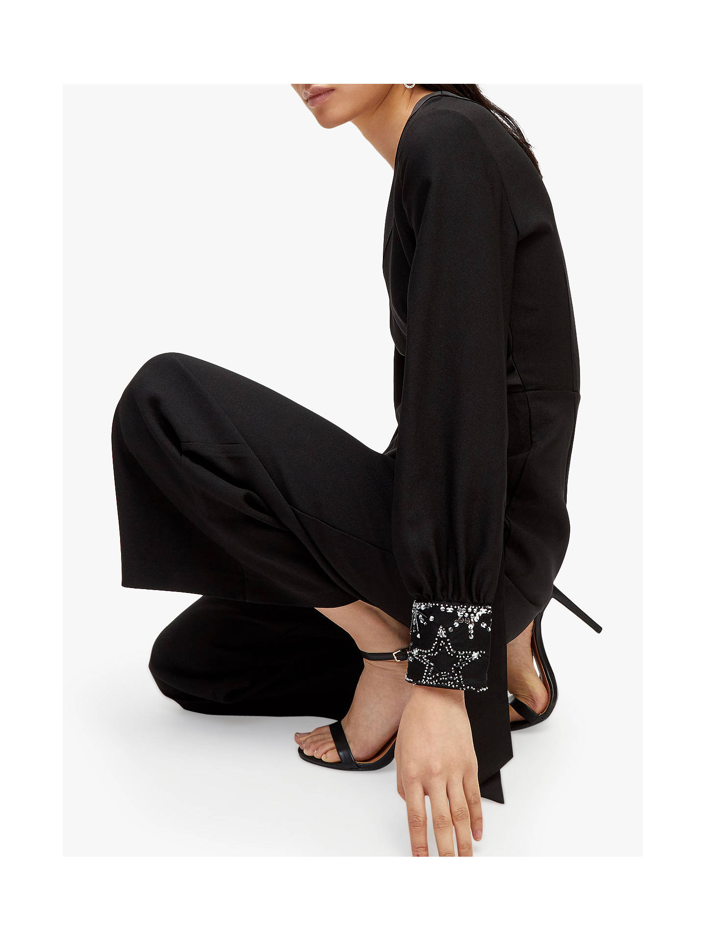 454fc079ff ... Buy Warehouse Embellished Cuff Jumpsuit