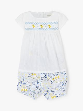 9cee5c814f5a John Lewis   Partners Baby Easter Scene Top and Shorts Set