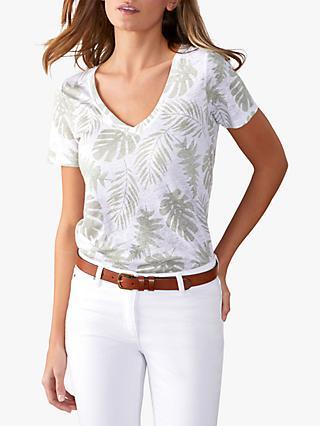 14309d0649d Pure Collection Linen T-Shirt
