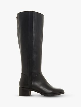 1ebe5cab38f6 Dune Turnar Leather Knee High Boots