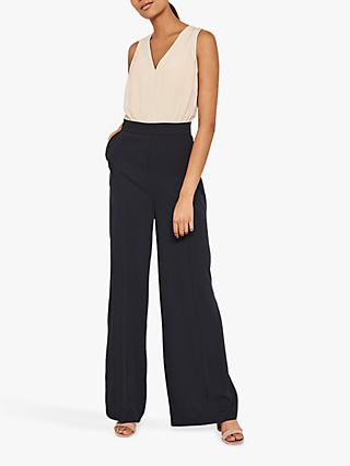 Mint Velvet Wide Leg Jumpsuit, Multi
