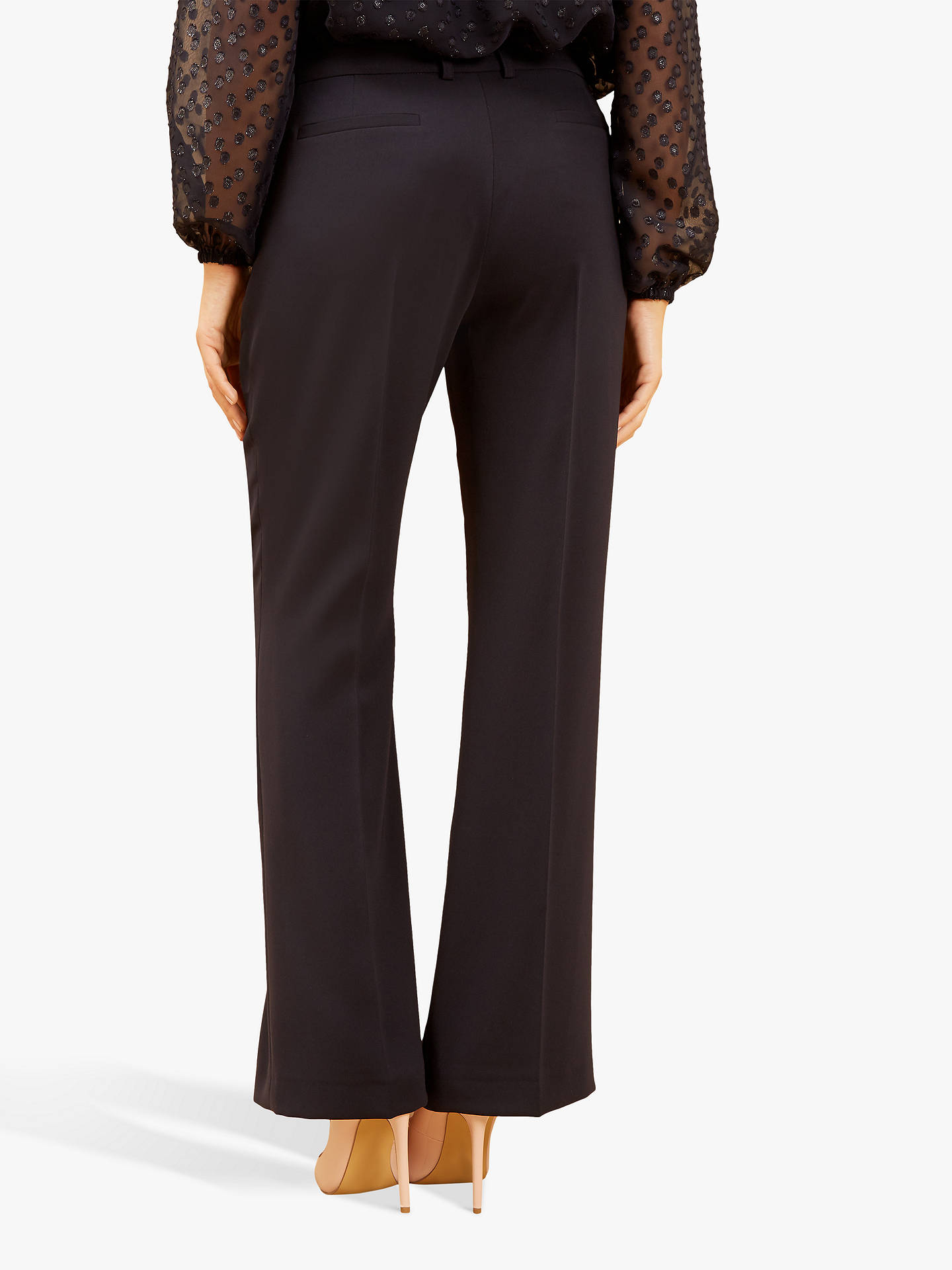 BuyFenn Wright Manson Petite Antonia Trousers, Navy, 10 Online at johnlewis.com