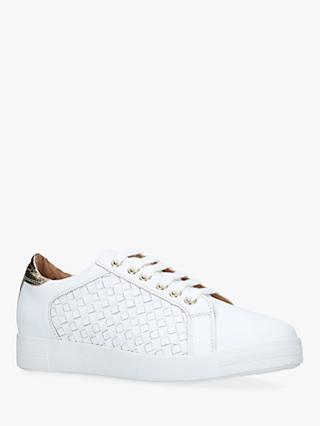 Carvela Judge Leather Trainers, White