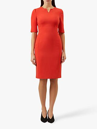 Hobbs Carlota Dress, Warm Orange