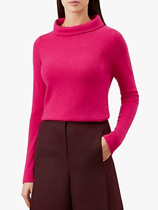 Hobbs Audrey Jumper, Hot Pink