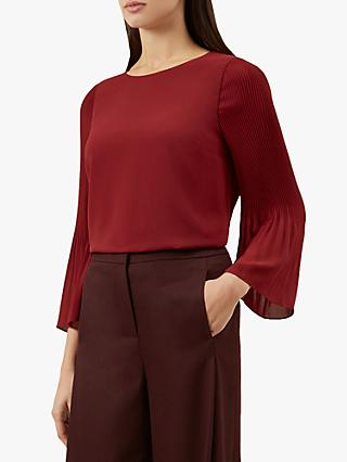 Hobbs Juliana Top, Burgundy
