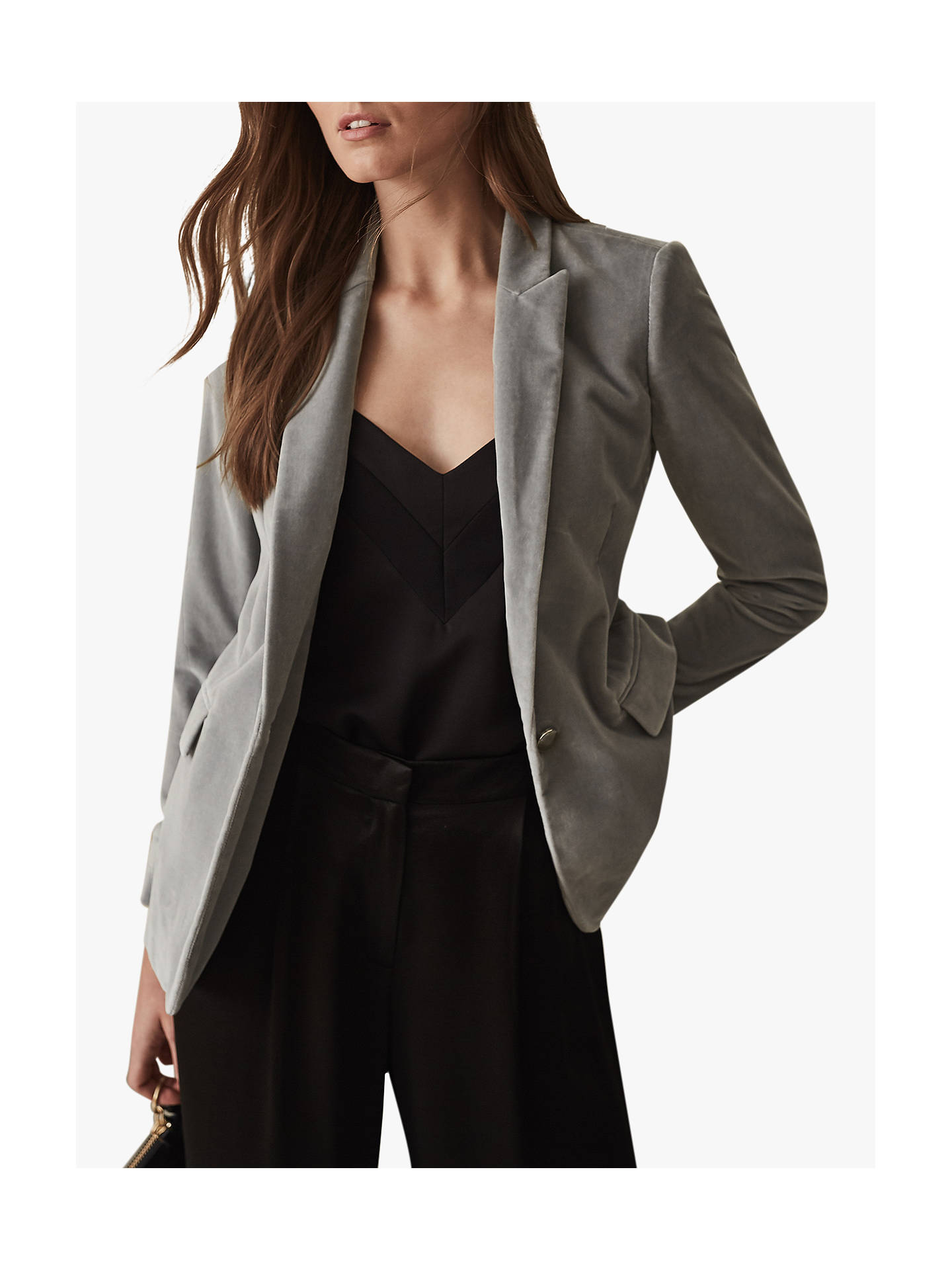 9be39704d7 Reiss Brie Velvet Jacket at John Lewis & Partners