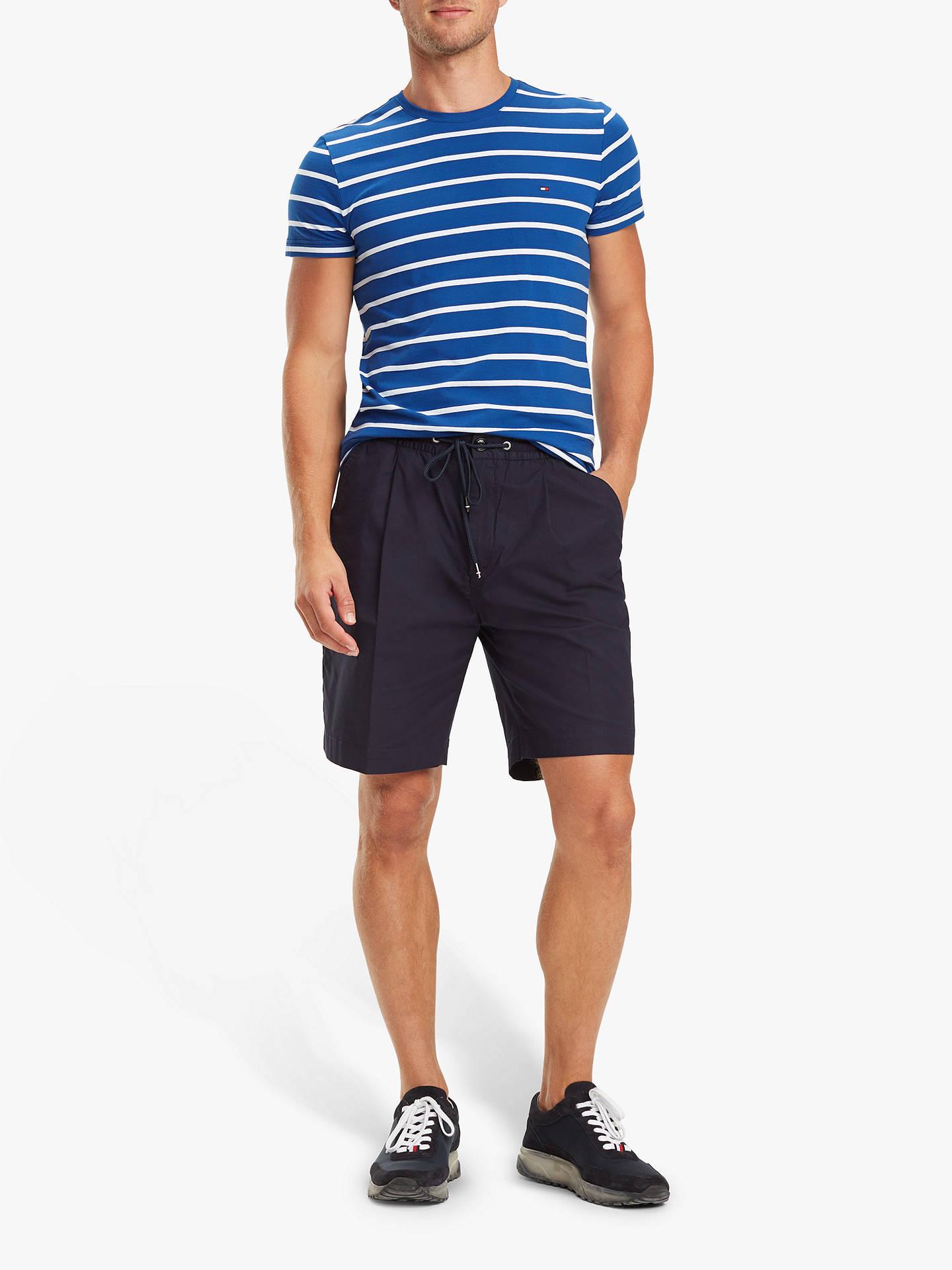 4e6897799 Tommy Hilfiger Stretch Cotton Stripe T-Shirt at John Lewis   Partners