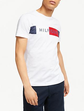 Tommy Hilfiger Colour Block Flag T-Shirt 093124bf0582