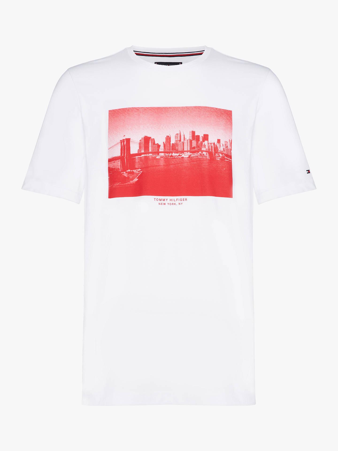992f51331 Buy Tommy Hilfiger Skyline Photo Print Short Sleeve T-Shirt