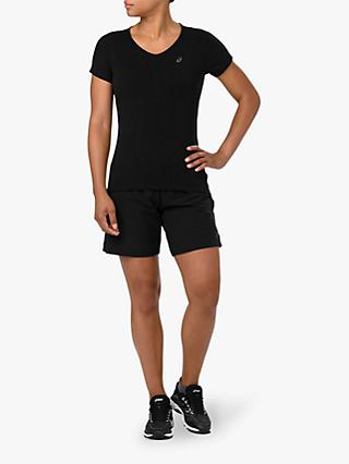 "ASICS 7"" Running Shorts, Black"