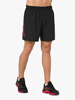 finest selection 5b9dd 7136e ASICS Icon Running Shorts, Black