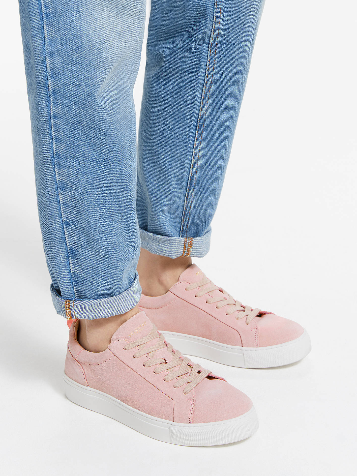 3d2d7ad9d91 ... Buy Selected Femme Donna Trainers, Heavenly Pink Suede, 8 Online at  johnlewis.com ...