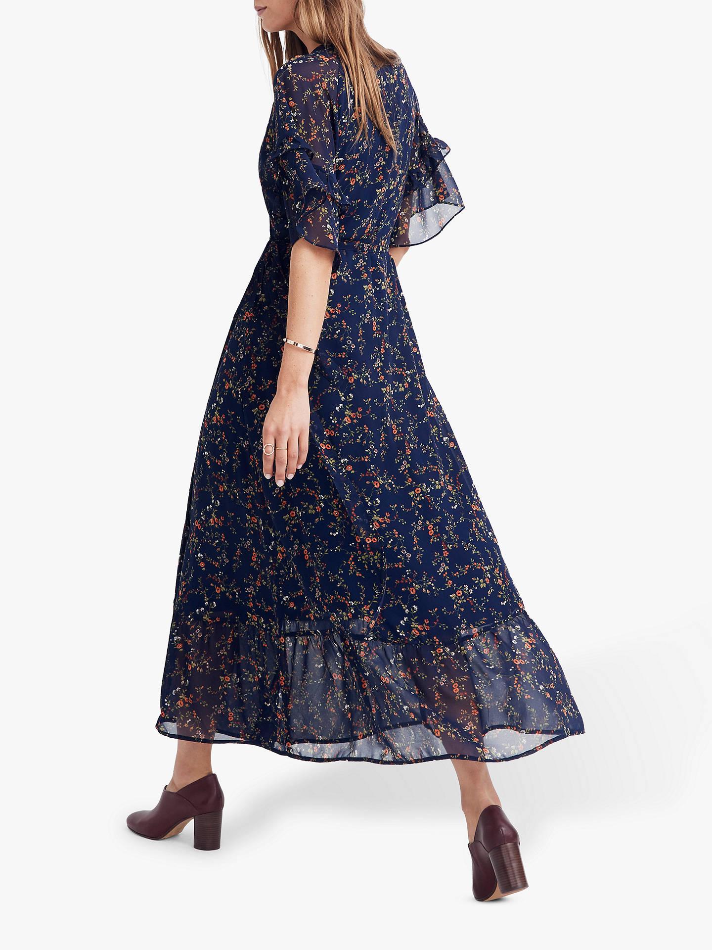 ee832fe2b00 Buy Madewell Ruffle Wrap Tie Dress