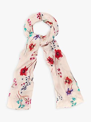 Phase Eight Zariah Floral Print Scarf, Multi