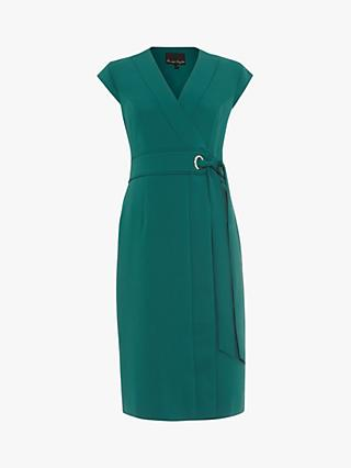 Phase Eight Pippa Wrap Dress, Pine